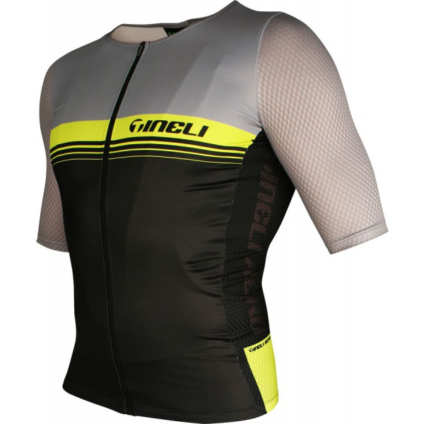 Aero ONE Race Jersey Yellow/Grey