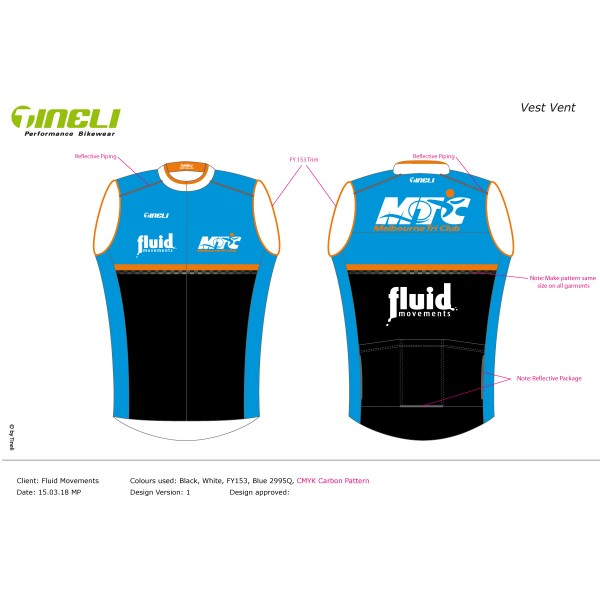 Race Vest, with Pockets